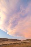 Σύννεφα Καλιφόρνιας Στοκ Εικόνα