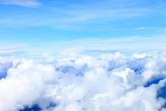 Σύννεφα μπλε ουρανού, μπλε ουρανός με τα σύννεφα Στοκ φωτογραφίες με δικαίωμα ελεύθερης χρήσης