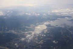 Σύννεφα μπλε ουρανού, μπλε ουρανός με τα σύννεφα Στοκ εικόνα με δικαίωμα ελεύθερης χρήσης