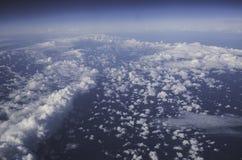 Σύννεφα, μπλε, ουρανός, αέρας, αέρας Στοκ Εικόνες