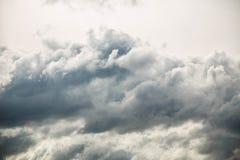 Σύννεφα ουρανού υποβάθρου Στοκ Εικόνες