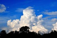 Σύννεφα - ουρανός Στοκ εικόνα με δικαίωμα ελεύθερης χρήσης
