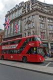 Σύννεφα πέρα από την οδό της Οξφόρδης, πόλη του Λονδίνου, Αγγλία, Μεγάλη Βρετανία Στοκ φωτογραφίες με δικαίωμα ελεύθερης χρήσης