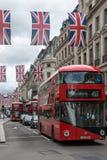 Σύννεφα πέρα από την οδό της Οξφόρδης, πόλη του Λονδίνου, Αγγλία, Μεγάλη Βρετανία Στοκ εικόνα με δικαίωμα ελεύθερης χρήσης