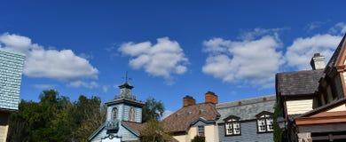 Σύννεφα πέρα από την παλαιά πόλη στοκ φωτογραφία με δικαίωμα ελεύθερης χρήσης