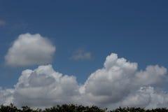 Σύννεφα πέρα από τη Φλώριδα Στοκ Φωτογραφίες