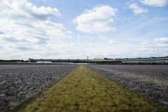 Σύννεφα πέρα από Tempelhof Στοκ φωτογραφία με δικαίωμα ελεύθερης χρήσης