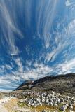Σύννεφα που ενισχύουν στη θύελλα; Στοκ Εικόνες
