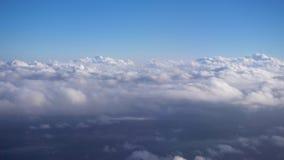 Σύννεφα που κινούνται γρήγορα απόθεμα βίντεο