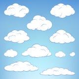 σύννεφα που τίθενται Στοκ φωτογραφίες με δικαίωμα ελεύθερης χρήσης