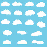 σύννεφα που τίθενται Στοκ Φωτογραφίες