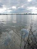 σύννεφα πόλεων Στοκ Φωτογραφίες