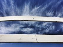 σύννεφα δραματικά Στοκ εικόνα με δικαίωμα ελεύθερης χρήσης