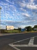 Σύννεφα σε Guanacaste, Κόστα Ρίκα Στοκ Εικόνες