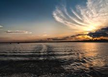 Σύννεφα & σούρουπο 2 HDR Στοκ Φωτογραφίες