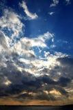 Σύννεφα στην Κωνσταντινούπολη Στοκ Φωτογραφίες