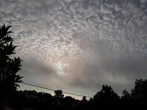 Σύννεφα στην Πορτογαλία Στοκ εικόνες με δικαίωμα ελεύθερης χρήσης