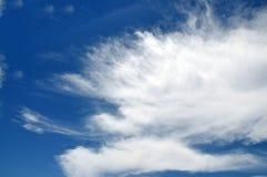 Σύννεφα στον ουρανό ανωτέρω Στοκ φωτογραφία με δικαίωμα ελεύθερης χρήσης