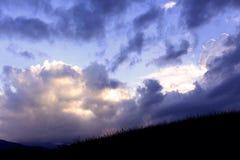 Σύννεφα στον ουρανό στοκ εικόνα με δικαίωμα ελεύθερης χρήσης