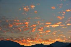 Σύννεφα στον ουρανό για το υπόβαθρο Στοκ φωτογραφίες με δικαίωμα ελεύθερης χρήσης