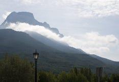 Σύννεφα στο βουνό, Πυρηναία Στοκ εικόνα με δικαίωμα ελεύθερης χρήσης