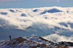 """Σύννεφα στο ska WetliÅ """"onina PoÅ ' στοκ φωτογραφία με δικαίωμα ελεύθερης χρήσης"""