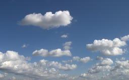 σύννεφα συμπαθητικά Στοκ Εικόνες