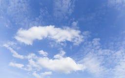 σύννεφα συμπαθητικά Στοκ Φωτογραφίες