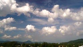 Σύννεφα της Ταϊλάνδης απόθεμα βίντεο