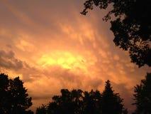 σύννεφα τρελλά Στοκ φωτογραφίες με δικαίωμα ελεύθερης χρήσης