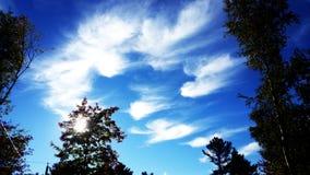σύννεφα τρελλά Στοκ Εικόνα