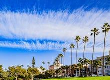 Σύννεφα φτερών στη Λα Χόγια, Καλιφόρνια Στοκ Εικόνα