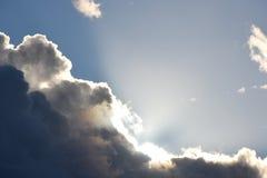 Σύννεφα δόξας Στοκ Εικόνα