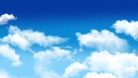 Σύννεφα 01 απόθεμα βίντεο