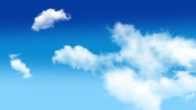 Σύννεφα 002 απόθεμα βίντεο