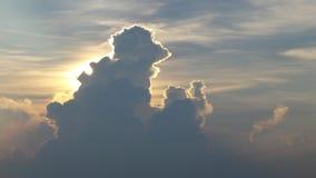 Σύννεφα Στοκ εικόνα με δικαίωμα ελεύθερης χρήσης