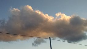 Σύννεφα Στοκ φωτογραφίες με δικαίωμα ελεύθερης χρήσης
