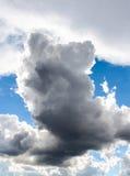 2 σύννεφα Στοκ φωτογραφία με δικαίωμα ελεύθερης χρήσης