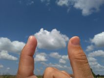Σύννεφα Στοκ Εικόνες