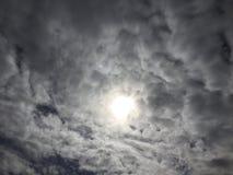 Σύννεφα 004 Στοκ Εικόνα