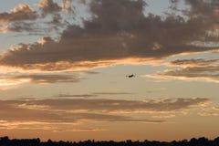 σύννεφα Los της Angeles πέρα από την πυ&r Στοκ Εικόνες