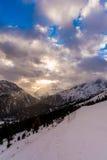 Σύννεφα montan Στοκ φωτογραφία με δικαίωμα ελεύθερης χρήσης