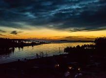 Σύννεφα Nocticulent Στοκ φωτογραφία με δικαίωμα ελεύθερης χρήσης
