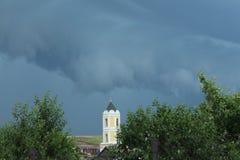 σύννεφα scary Στοκ φωτογραφία με δικαίωμα ελεύθερης χρήσης