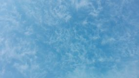 Σύννεφα Scaterred Στοκ Εικόνες