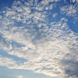 Σύννεφα Spindrift Στοκ Εικόνες