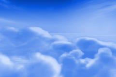 σύννεφο ανασκόπησης Στοκ Εικόνες