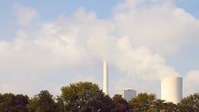 Σύννεφο ατμού, timelapse απόθεμα βίντεο