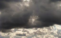 σύννεφο βαρύ Στοκ Φωτογραφία