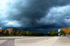 Σύννεφο βροντής Στοκ φωτογραφία με δικαίωμα ελεύθερης χρήσης